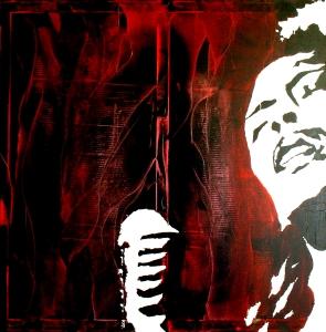 """Billie Holiday"" - Acrilyc on canvas - 100x100"