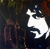"""Frank Zappa"" - Acrilyc on canvas - 100x100 cm"