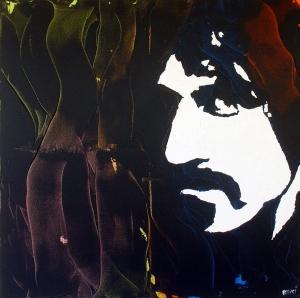 """Frank Zappa"" - Acrilyc on canvas - 100x100 cm"