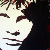 """Jim Morrison"" - Acrilyc on canvas - 100x100 cm"