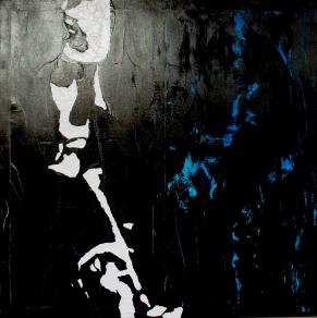 """Chet Baker"" - Acrilyc on canvas - 100x100 cm"