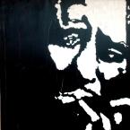 """""""Howlin Wolf"""" - Acrilyc on canvas - 100x100 cm"""