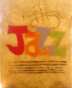 """""""Jazz"""" - Mixed media- 90x100 cm"""