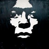"""Miles Davis"" - Acrilyc on canvas - 100x100 cm"