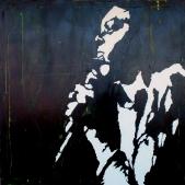 """Nona Hendrix"" - Acrilyc on canvas - 100x100"