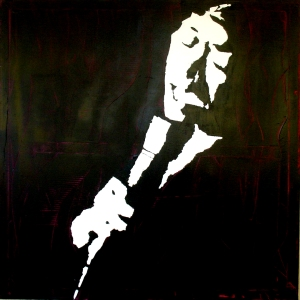 """""""Sarah Vaughan"""" - Acrilyc on canvas - 100x100 cm"""