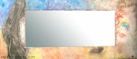 "Nicola Bucci - Quadrospecchio ""B"" - 105x478 cm"