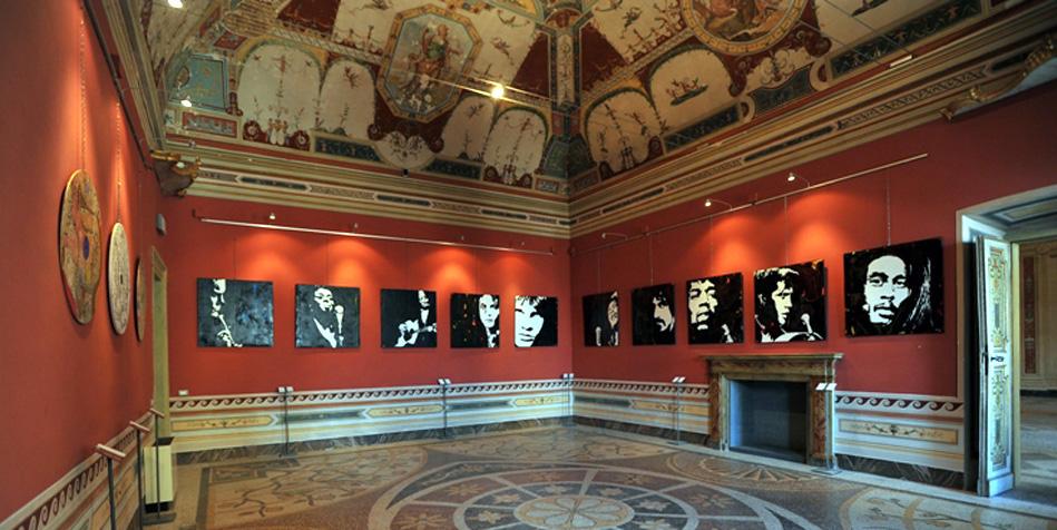 Nicola Bucci Bucnic - Mostra a Palazzo della Corgna - Città della Pieve (Pg)