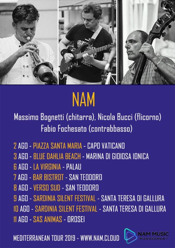 NAM - MEDITERRANEAN TOUR 2019