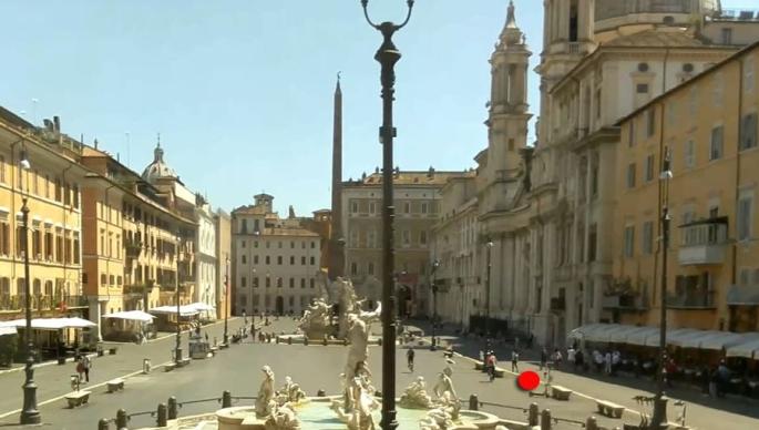 Nicola Bucci - Postazione n°10 -  Piazza Navona